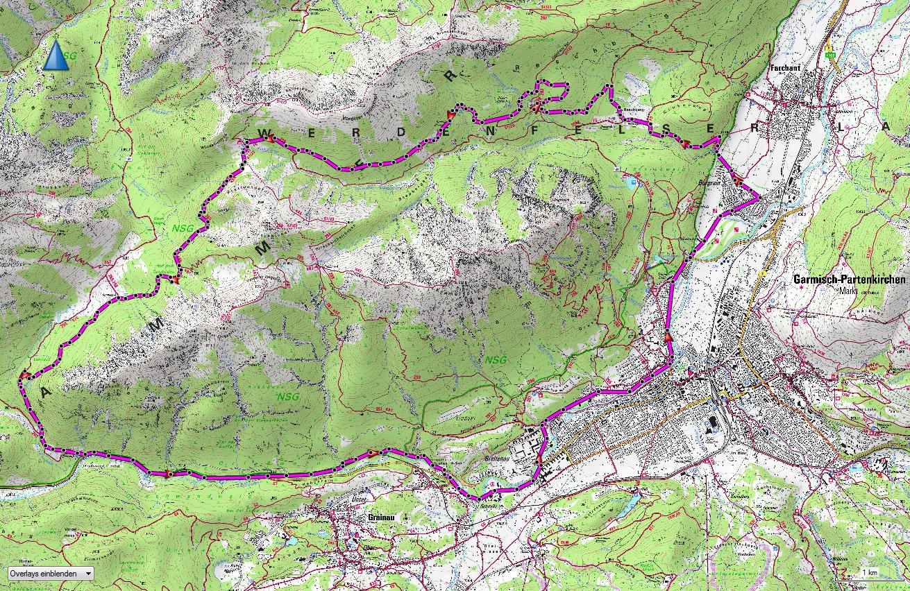 mountainbike-guide-kramer-umrundung-karte