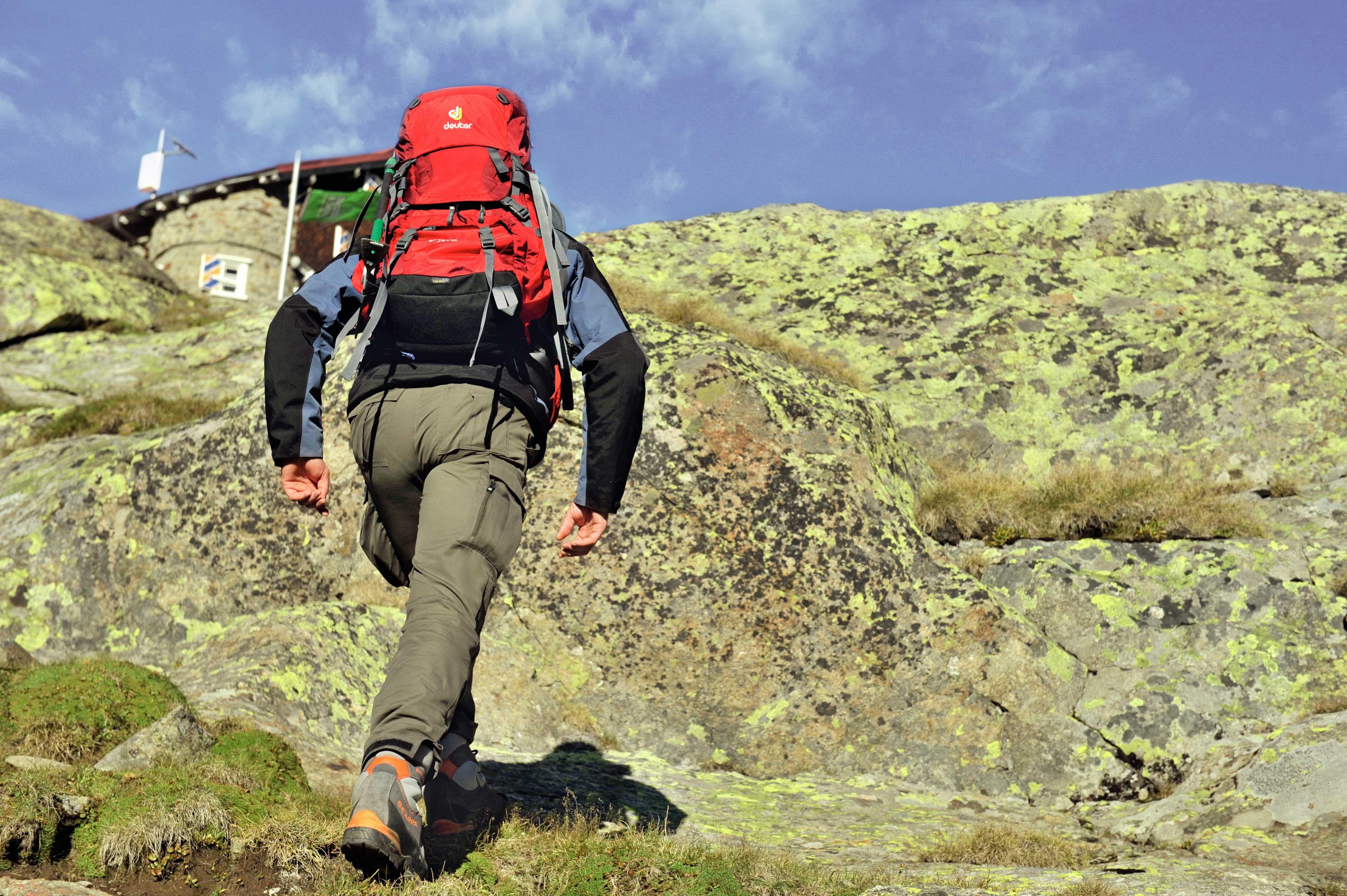 Mit einem richtig gepackten Rucksack wird jeder Aufstieg leichter
