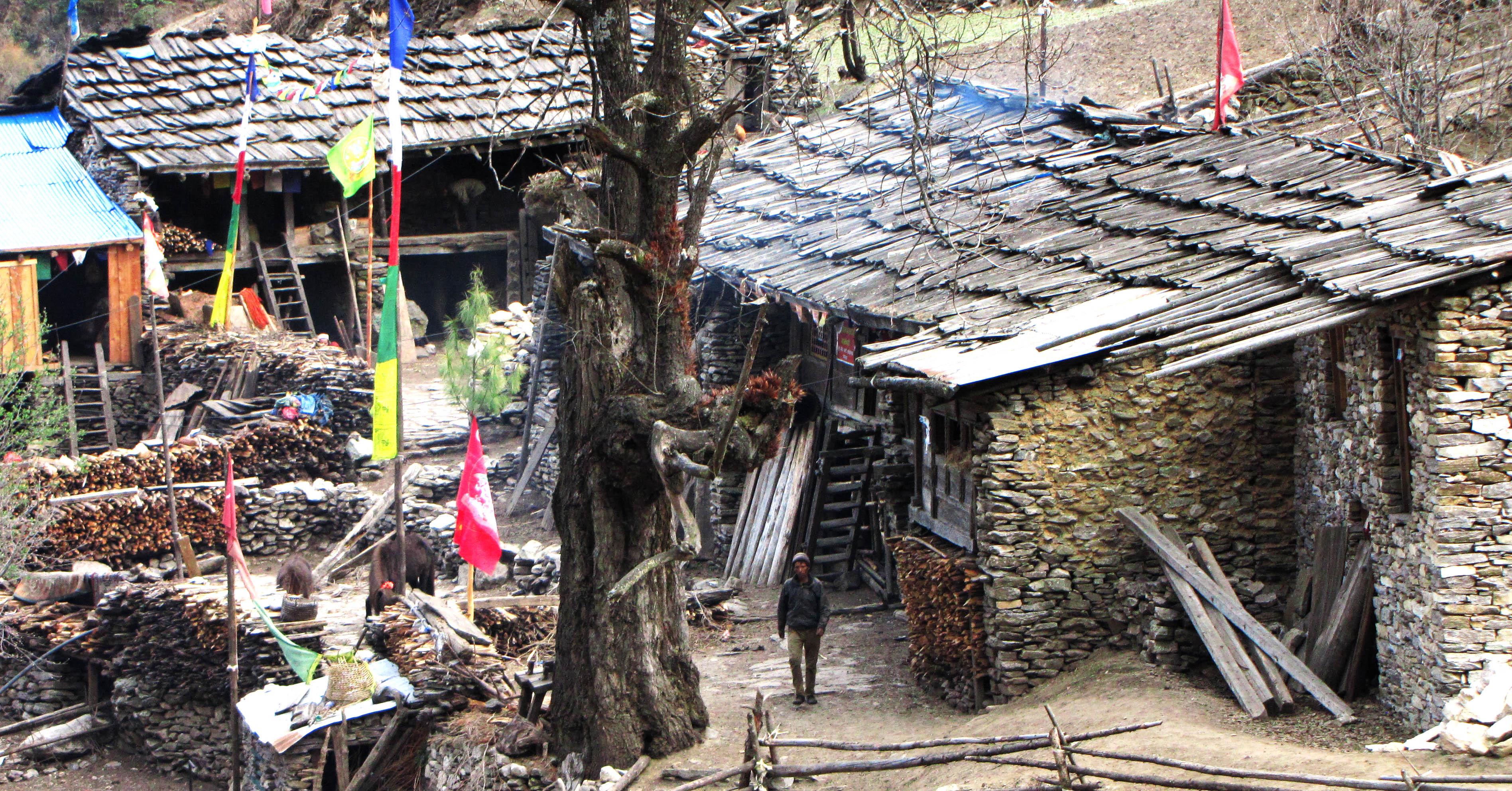 vortrag-nepal-dorf