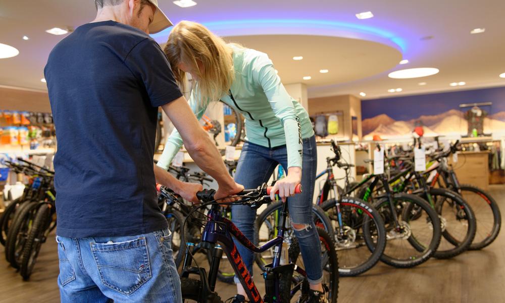 Die richtige Rahmengröße für Dein Mountainbike | Sport Conrad
