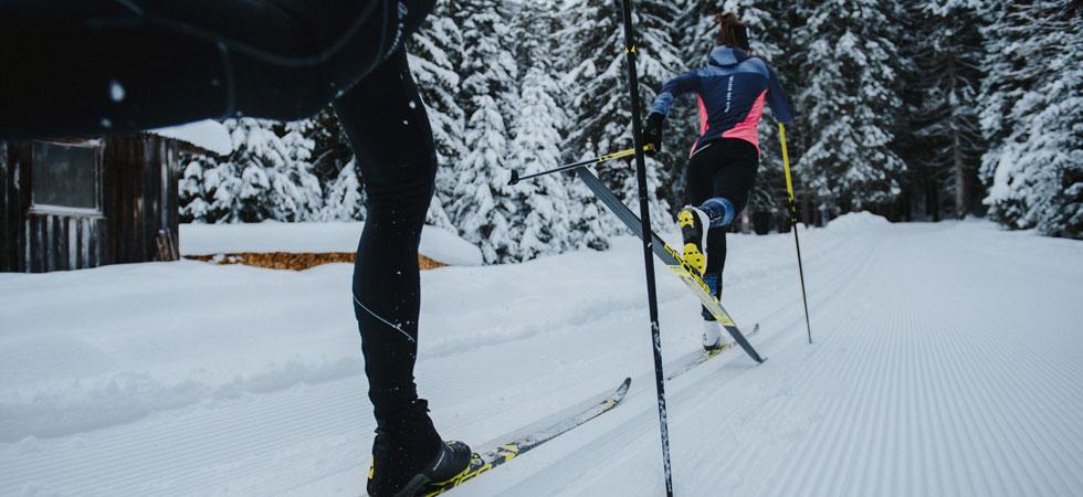 Finde die beste Ausrüstung für Classic Skilanglauf