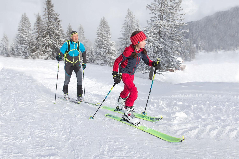 Ski Touring with the family